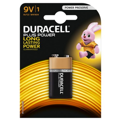 DURACELL PLUS POWER 9V www.gadgetmou.com www.smart-gadget.shop