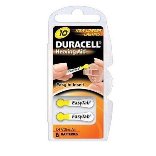 Duracell Size 10 Hearing Aid Batteries 6 Pcs www.gadgetmou.com www.smart-gadget.shop