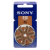 Sony Batteries for headphone 65mAh (PR41) 6Pcs www.gadgetmou.com www.smart-gadget.shop
