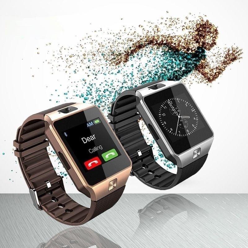 Wearable-Smartwatch-Devices-DZ09-Smart-Wrist-Watch. www.gadgetmou.com