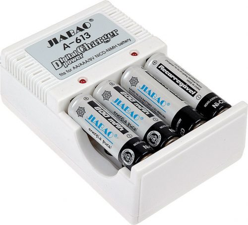 Power Batteries Charger Jiabao A-612 Digital AAAAA 9V Ni-MHNi-CD www.gadgetmou.com www.smart-gadget.shop 1