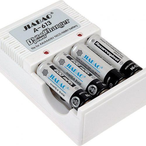 Power Batteries Charger Jiabao A-612 Digital AAAAA 9V Ni-MHNi-CD www.gadgetmou.com www.smart-gadget.shop 1