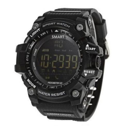 Sport Smartwatch EX16 upgraded version T1, Outdoor Waterproof IP68, Heart rate monitor, Bluetooth 4.0, Sport Clock 1