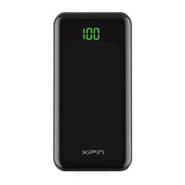 Xipin Power Bank 10000mAh, full-screen LCD power bank www.smart-gadget.shop www.gadgetmou.com