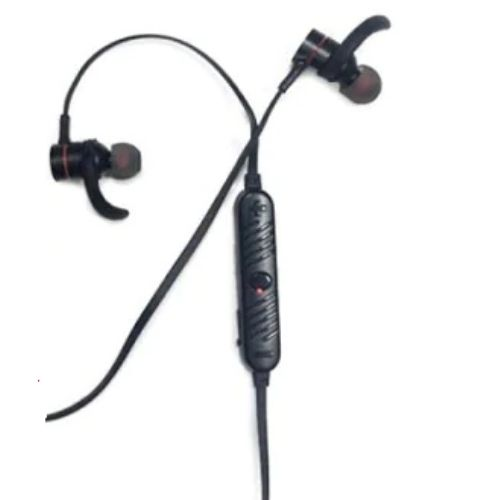 Headphone SQ-BT700 Magnet Metal Sports, Bluetooth Headset V4.2 Stereo Waterproof Headset Black