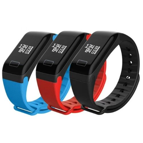 Smart Sport Fitness bracelet F1 Gadget mou BP-HR with blood pressure and heart rate monitor color