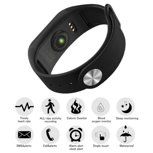 Smart Sport Fitness bracelet F1 Gadget mou BP-HR with blood pressure and heart rate monitor description