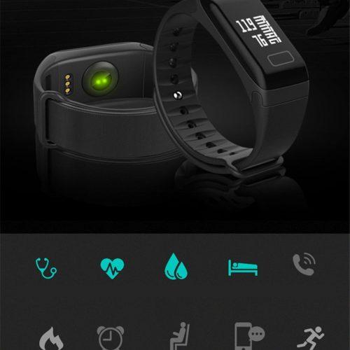 smart Sport Fitness bracelet BP-HR Gadget mou with blood pressure and heart rate monitor #gadgetmou www.smart-gadget.shop 1