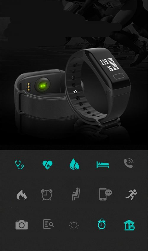 smart Sport Fitness bracelet BP-HR Gadget mou with blood pressure and heart rate monitor #gadgetmou www.smart-gadget.shop 1