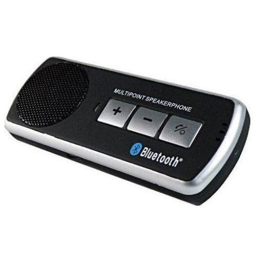 BT610 DUAL standby Bluetooth V2.1 Ugetde Car Handsfree Bluetooth Multipoint Speakerphone& SILVER