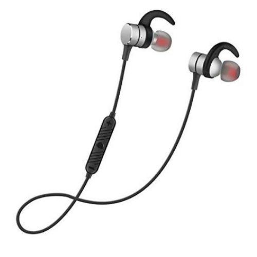 Headphone Sq Bt700 Magnet Metal Sports Bluetooth Headset V4 2 Stereo Waterproof Headset Gray Gadget Mou