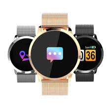 Smartwatch ANT-Q8 , Heart Rate monitor, Anti lost, Bluetooth, remote control, Black Metal Wristlet For IOS & Android #gadgetmou 1