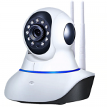 Real Safe camera XM-3201-W, 1080P IP Wireless Home Security Surveillance, Night Vision Baby Monitor CCTV Camera 19201080, 360 Degree Two-Way Audio, Support Android & IOS #gadgetmou