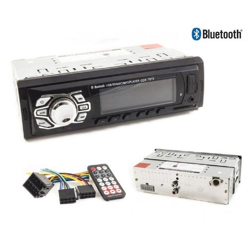 CAR Bluetooth, multimedia, SD Card, USB, AUX, MP3, WMA, Xplod Car Sound System CDX-7613BT With Remote Control, Car Radio Stereo 4 x 50 W gadgetmou