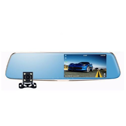 "Car Mirror 5.0 "" LCD Screen, DVR-01 Gadget mou"