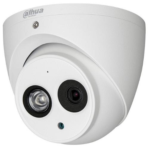 Dahua HAC-HDW1200EM-A Surveillance Camera TVI Dome Camera 1080p Built-in Microphone 2MP, Waterproof 2ways Talk 2.8mm fixed lens IR Eyeball Camera gadgetmou