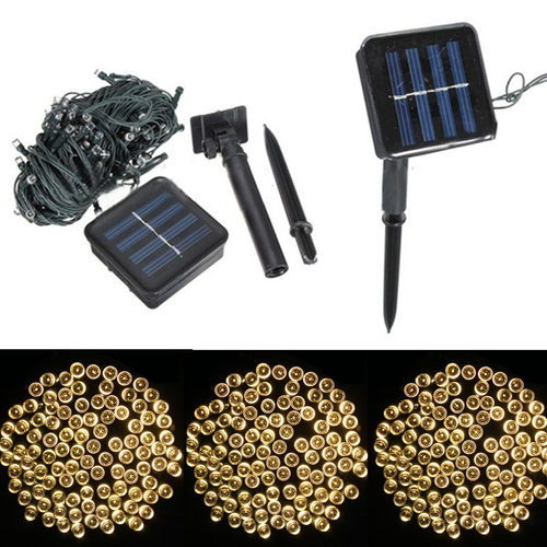 LED Christmas Decoration LIGHT 100L Multi Function Solar Power EK-04 OEM www,gadgetmou.com