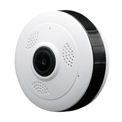 Mini FV-A3607B Panoramic Camera CCTV Wireless Fisheye Lens 1080P, V380 Security Home WIFI, 960P HD TF P2P Panoramic 360 Degree Angle VR Two Way Audio Gadget mou