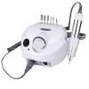 Nail Drill Machine ZS-601 PRO 30000 Rpm, Professional and Portable Electric Manicure & Pedicure Nail Drill Set 15W White