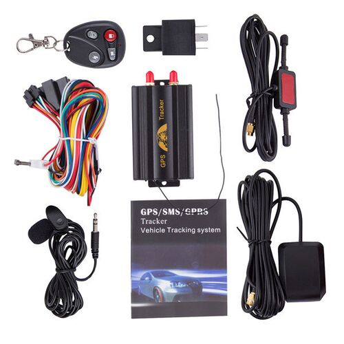 New Version Car GPS Tracker 103B Plus With Remote Control,GSM, Alarm, SD Card Slot, Anti-theft, Real-Time Tracking and Voice listening TK103B+ www.gadgetmou.com 3