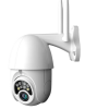 PTZ IP Outdoor Wireless Security Camera LS-WIFIP03, 1080P, 5X Digital Zoom, CCTV, V380 App, Two WiFi Antenna, Waterproof IP66, Two Way Audio, 8 LEDs, 320 degrees, Speed Dome gadgetmou