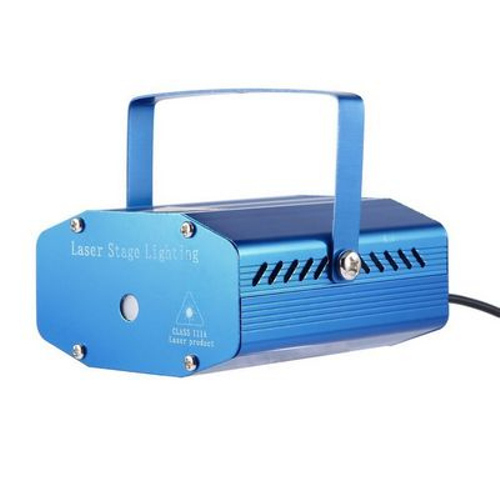 Photorhythmic Laser YX-09 Mini Red & Green Holographic Laser Star projector 50Hz-100mW Christmas & Party Decorative Illuminated www,gagetmou.com