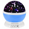 Rotating Light Projector with Remote Control & Music, Starry Nursery Night Light, USB STAR MASTER Projection Lamp K-L6YK