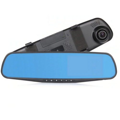 Vehicle Blackbox DVR 4.3 Inch Full HD 1080P, Mirror Car Camera Recorder L808B, Dash Cam 170 Degree Dual Lens Rear-View 31