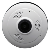 www.gadgetmou.com Mini Panoramic Camera CCTV Wireless Fisheye Lens 1080P, V380 Security Home WIFI, 960P HD TF P2P Panoramic 360 Degree Angle VR