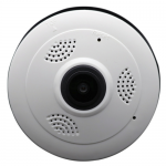 www.gadgetmou.com Mini Panoramic Camera CCTV Wireless Fisheye Lens 1080P, V380 Security Home WIFI, 960P HD TF P2P Panoramic 360 Degree Angle VR