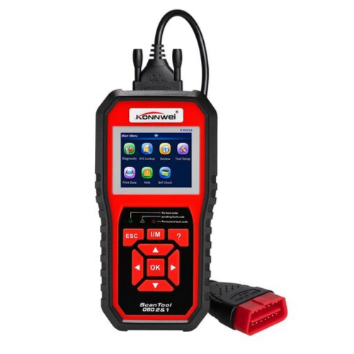 www.gadgetmou.com Origina KONNWEI KW850 OBDII Scanner Automotive Diagnostic Tool AL519 Full Function Car Code Reade EOBD Engine Scanner LCD screen