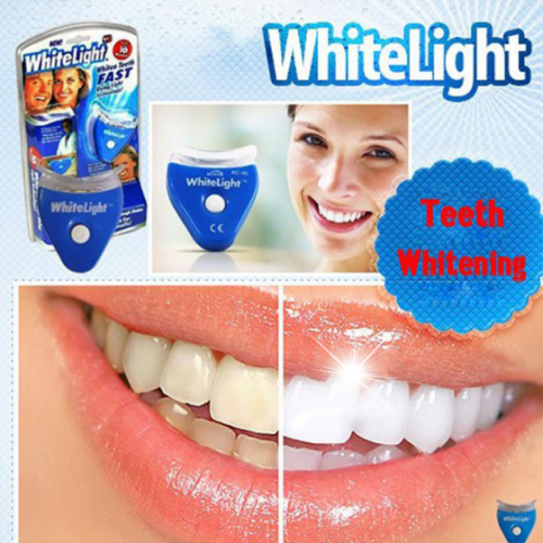 Gadgetmou.com White Light Tooth Whitening System Home Kit Tooth Whitening Gel Super Bright Oral Bleaching LED (2)