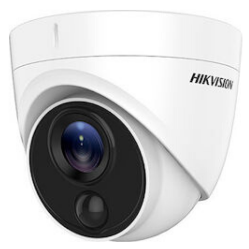 Turbo HD Hikvision DS-2CE71H0T-PIRLPO 5MP HDTVI Camera 2.8mm Lens CCTV Demo Gadgetmou