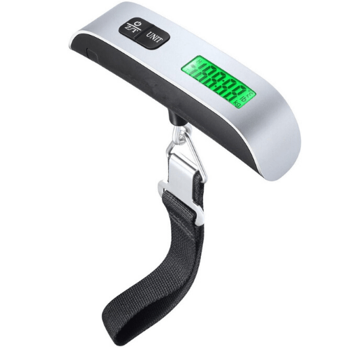High Precision Portable Electronic Luggage Scale With LBS/KG Conversion Max 50KG