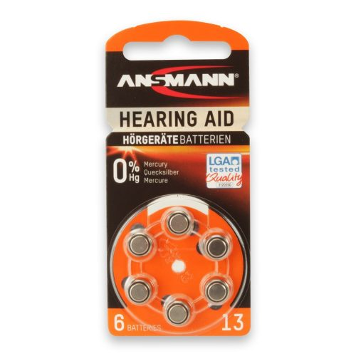 Ansmann Hearing Aid batteries Type 13 / PR48
