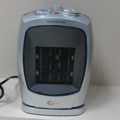 Heating Device Oscar Plus Fan heater PTC-03A Ceranic Heater Oscillating Setting 750W &1500W