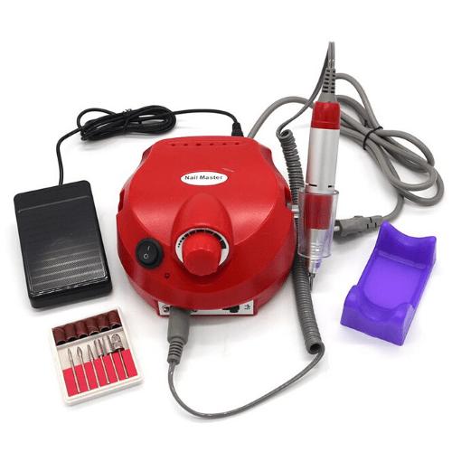 Επαγγελματικός Ηλεκτρικός Τροχός Μανικιούρ Πεντικιούρ Nail Polisher Master DM-202 25000 RPM 30W Nail Master