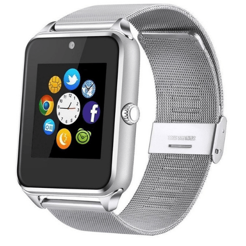 Smartwatch-Z60-Social-media-App-Bluetooth-TF-Card-GSM-Camera-IP67-for-Android-Phone-Multicolor