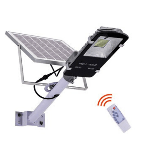 Solar Light JD-650 50W with Column Panel, Remote Controller and Timer 5800LM Solar street light gadget mou