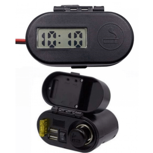 Waterproof USB Multifunction Phone Charger & Cigarette Lighter CD-3068