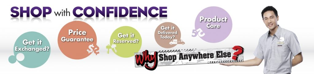 shop with confidence gadget mou