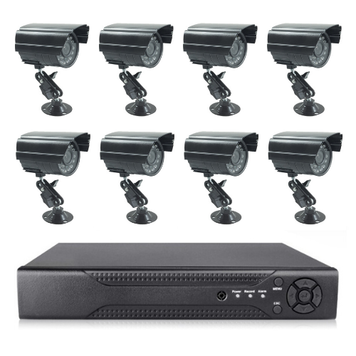 8 Aprica Cameras Full CCTV B00VKCT7V0 System Black 3G Phone Viewing Gadget mou 3