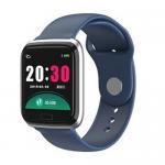 CY05 Sport Smart Watch Men Fitness Bracelet Heart Rate Monitor Pressure IP67 Waterproof Smartwatch Blue