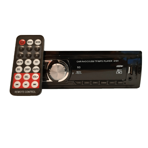 Car MP3 Player USBSDAUX FM RadioRemote Control CDX-4101