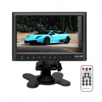 Car Monitor 7-Inch 2-Way Bluetooth Touch Monitor TF USB MP5 with Remote Control support Video Audio Player Gadget mou