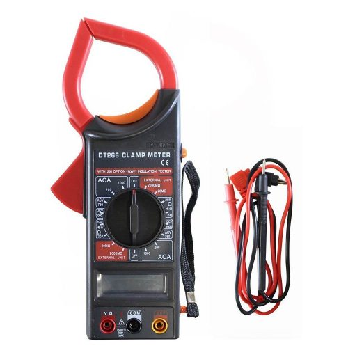 Digital Clamp Meter 500V Insulation Tester Unit - Multimeter DT-266 gadgetmou