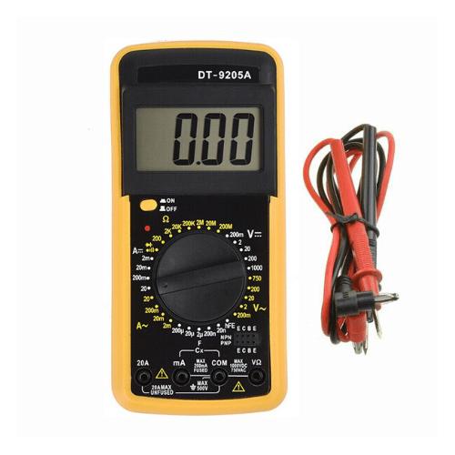 Digital Multimeter ACDC Voltmeter Ammeter Resistance Capacitance Meter Tester Tool – DT9205A Gadget mou