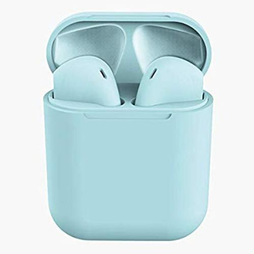 Earphone Bluetooth inPods 12 Blue Gadget mou