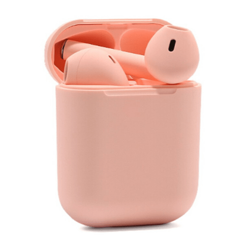 Earphone Bluetooth inPods 12 Pink Gadgetmou