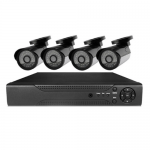 Full CCTV 4Kit System KS-4AHDK6D Black 3G Phone Viewing Gadget mou